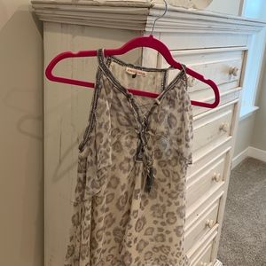 Ladies Animal Print top